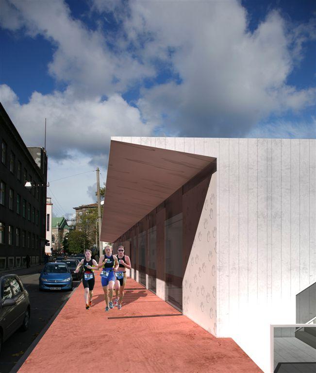 Prantsuse Lütseumi spordihoone avalik arhitektuurivõistlus II preemia