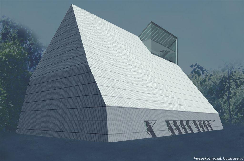 Naissaare kontserdimaja kutsutud arhitektuurivõistlus I preemia