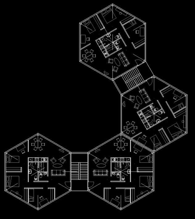 Mustjõe elamukvartali avatud arhitektuurivõistlus II preemia