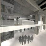 Arhitektuuri- ja disainikeskuse ruumide avalik arhitektuurivõistlus II-III koht