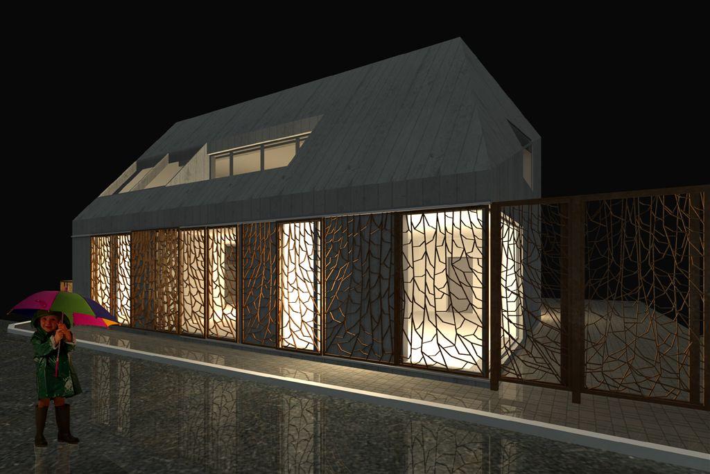 Kuressaare Lasteaia 2 hoone kutsutud arhitektuurivõistlus
