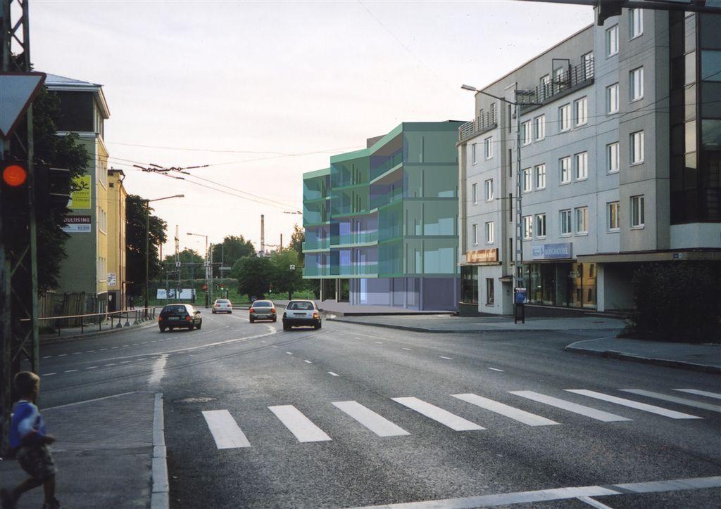 Luise-Villardi tn kortermaja eskiisprojekt