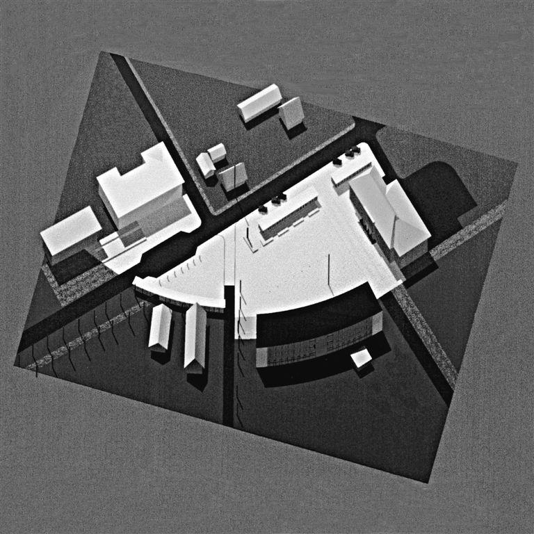Räpina linna keskosa avalik arhitektuurivõistlus I koht