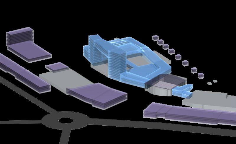 Rocca al Mare spordi-ja vabaajakeskuse mahulise arengu visioon