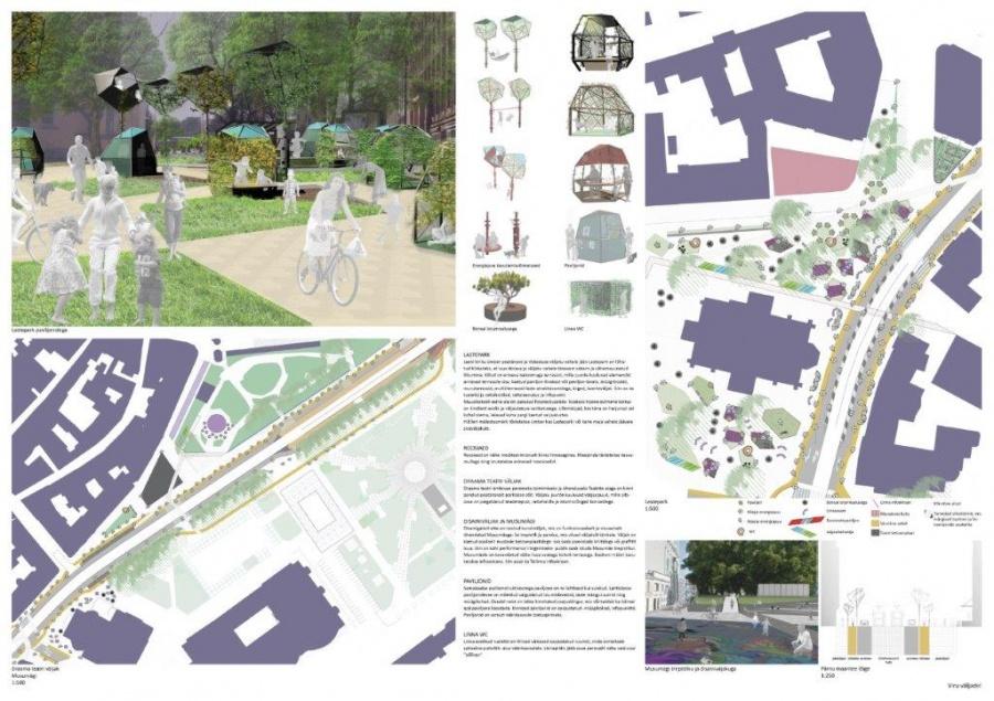 Tallinna peatänava avaliku arhitektuurivõistluse I etapp- ostupreemia